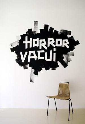 Horror Vacui